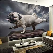 Cartoon Animal Canvas Dog Wallpaper ...