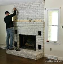 interior beautiful ideas how to redo a fireplace makeover reveal complete precious brick diy f