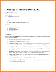 How To Write A Resume Net Sevte