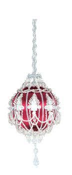 crystal chandelier ornaments mini full size