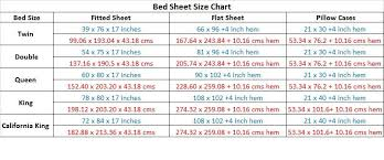 Sheet Dimensions Chart Find Furniture Image Results