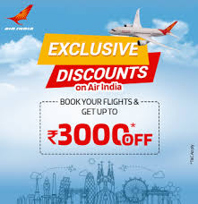 Enjoy Flying With Air India Offer Get Special Deal At