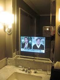 Bathroom mirror TV © Tech2o