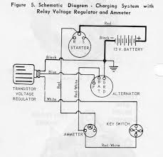 alternator upgrade 1 wire or 3 wire page 1 iboats boating the diagram is the transistor regulator circuit which is what i have on the page the description for the diagram was to the left below a lot of text not