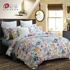 egyptian cotton bed linen luxury cotton bedding set colorful fl satin bed set king queen size