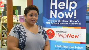 tulsa library offering homework help to students com brenda radke the tulsa library said basically just type in the question