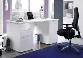 large office table. Cellini Large White Gloss Computer Desk Office Workstation Table