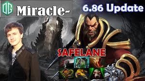 miracle lycan safelane pro gameplay dota 2 mmr youtube