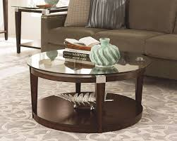 coffee table interesting round glass coffee table design ideas intended for round coffee table with storage