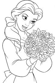 Awesome Disney Princess Coloring Pages