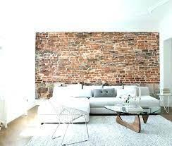 old brick walls interior design