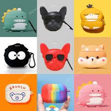 <b>Earphone</b> Case for Honor <b>X1</b> Case Silicone Cute Bear Cartoon Soft ...