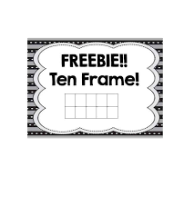 Paper Frames Templates 36 Printable Ten Frame Templates Free Template Lab