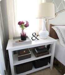 ideas bedside tables pinterest night: great looking inexpensive nightstand solution  great looking inexpensive nightstand solution