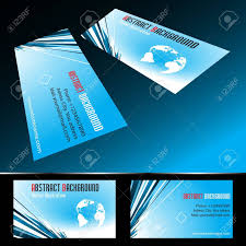 Vector Four Business Card Set Clip Art Royalty Free Cliparts