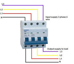 similiar 3 phase 4 wire system keywords above diagram i shown the controlling of 3 phase 4 wire system using 4
