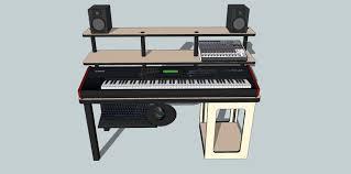 very unique custom studio desk workstation gearz pro