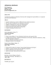 Resume Sample: Laboratory Technician Resume Samples Lab Tech Skills ...