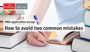 gmat avoiding common mistakes on mba application essay economist  mba application essay advicejpg