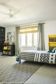 Modern Boys Bedrooms Modern And Bright Boy Room Reveal