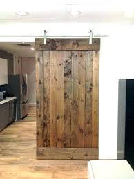 old barn door ideas doors enchanting reclaimed wood home depot sliding hanging kit