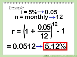 Calculate Annual Interest Rate Math Image Titled Calculate Effective