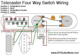 tone warrior 2011 telecaster modification 4 way switching