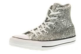 converse 556817c women s multisport outdoor silver shoes converse high tops leather converse statement whole