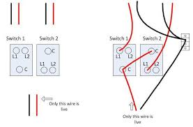 wiring a 2 gang light switch for 2 separate lights wiring change 2 gang 1 way light switch in kitchen wiring probs on wiring a 2 gang
