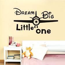 dream big little one wall decal dream big little one vinyl e wall decal kids room