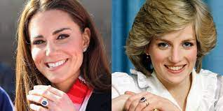 Kate middleton beams as she shows the world the engagement ring for the first time on her hand. Kate Middleton Princess Diana S Engagement Ring Is Controversial For A Surprising Reason