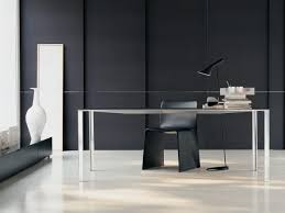 Office Furniture : Modern Office Furniture Expansive Bamboo Table ...