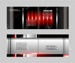 Flyer Template For Pages Vector Brochure Flyer Magazine Cover Poster Template Two