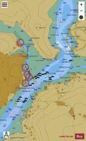 Salcombe Harbour Chart Salcombe Marine Chart 0028_1 Nautical Charts App
