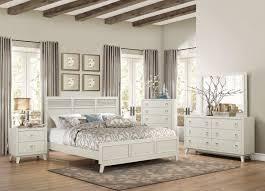 Modern Queen Bedroom Sets Homelegance Valpico 4pc Modern Sleek Cool Grey Wood Queen Bedroom Set