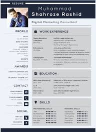 Resume Template Doc Cool SoftSolClean Infographic Resume Template [Doc AI] SoftSol