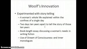 stream of consciousness woolf and mrs dalloway stream of consciousness woolf and mrs dalloway