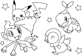 Small Picture Pokemon Color Page Very Funny Pokemon Anime Coloring Pages For
