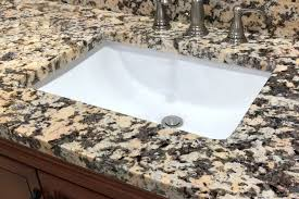 a granite countertop