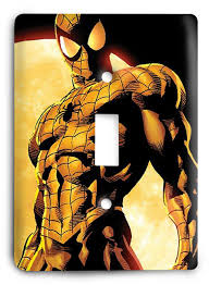 Superhero Light Switch Cover Amazing Spider Man V1 Light Switch Cover