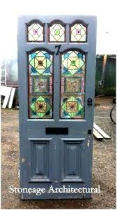reclaimed glass doors stained glass front doors reclaimed a modern looks cottage front doors for