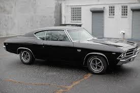 1969 Chevrolet Chevelle SS 396 triple black 4spd unrestored ...