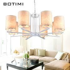 linen chandelier chandeliers linen chandelier for living room linen drum pendant chandelier