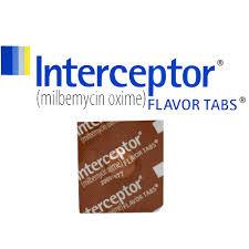 interceptor for dogs 2 10 lbs brown 1 flavor tab