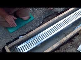trench drain drainage solutions
