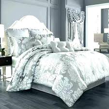 white and silver bedding sets set comforter with black trim down