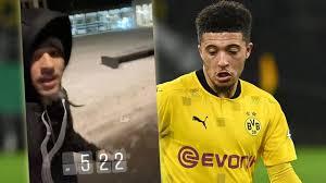 Borussia Dortmund: Warum joggt Sancho um 5.22 Uhr durch Dortmund? -  Bundesliga - Bild.de