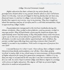 University Personal Statement Examples Personal Statement For University Application Samples