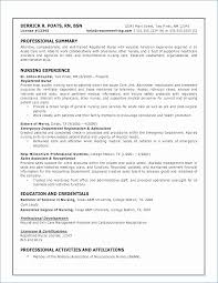 Professional Qualifications Resume
