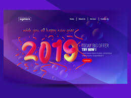 free banner backgrounds free 2019 happy new year abstract web banner background by mri